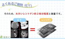 CTの被ばく量(動画)